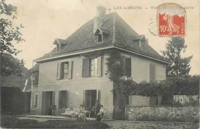 """CPA FRANCE 38 """" Les Abrets, La Villa de Honnet Gris"""""""