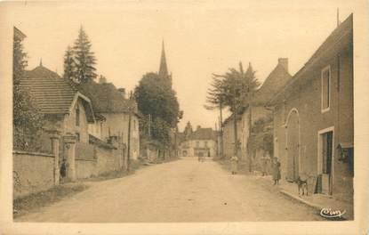 """CPA FRANCE 38 """" Aoste, Route de Belley"""""""