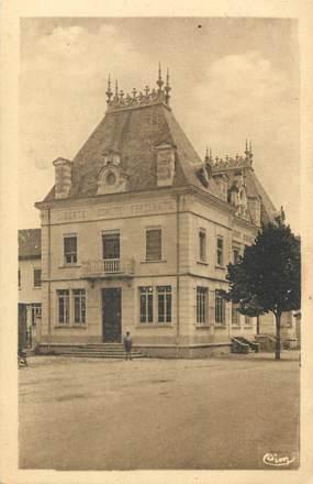 """CPA FRANCE 38 """" Aoste, L'Hôtel de Ville"""""""