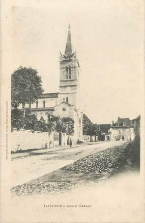 """CPA FRANCE 38 """" Aoste, Le village"""""""