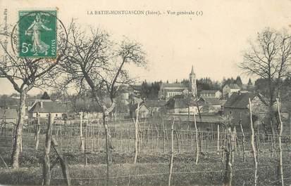 """CPA FRANCE 38 """" La Batie Montgascon, Vue générale"""""""