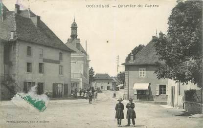 "CPA FRANCE 38 "" Corbelin, Quartier du Centre"""