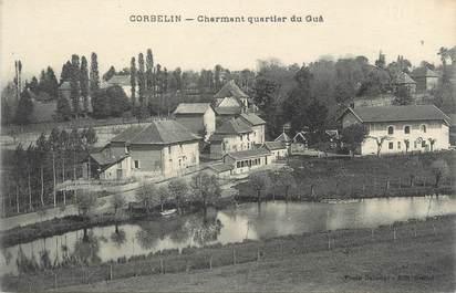 "CPA FRANCE 38 "" Corbelin, Charmant Quartier du Guâ"""