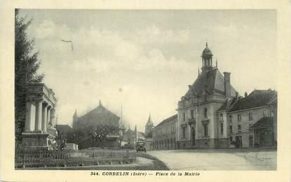 "CPA FRANCE 38 "" Corbelin, Place de la Mairie"""