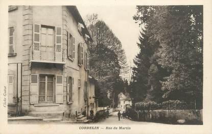 """CPA FRANCE 38 """" Corbelin, Rue du Martin"""""""