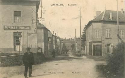"""CPA FRANCE 38 """" Corbelin, L'Avenue"""""""