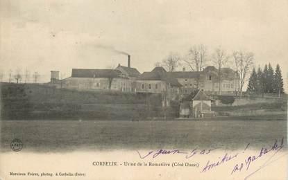 "CPA FRANCE 38 "" Corbelin, Usine de la Romatière"""