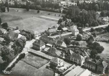 "CPSM FRANCE 38 "" Corbelin, Vue panoramique aérienne"" / USAGE TARDIF"
