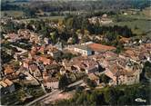 """38 Isere CPSM FRANCE 38 """" Corbelin, Le centre du village, l'église et le couvent"""""""