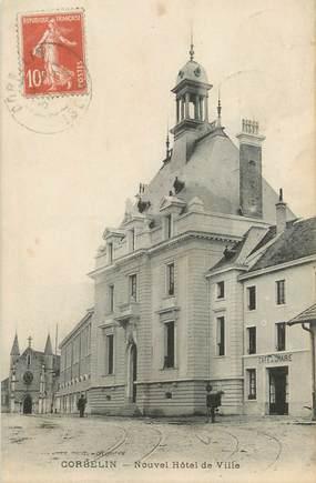 """CPA FRANCE 38 """" Corbelin, Nouvel Hôtel de Ville"""""""