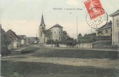 """CPA FRANCE 38 """" Fitilieu, Entrée du village"""""""
