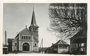 """38 Isere CPSM FRANCE 38 """" Fitilieu, La place et l'église"""""""