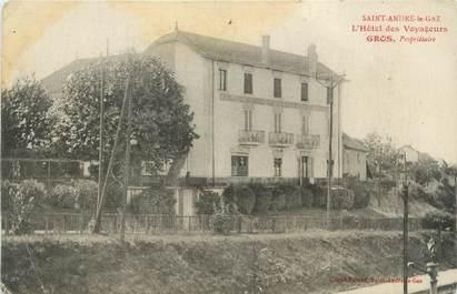 """CPA FRANCE 38 """" St André le Gaz, L'Hôtel des Voyageurs"""""""