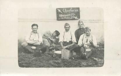 """CARTE PHOTO FRANCE 38 """" Le Camp de Chambaran en 1929"""""""