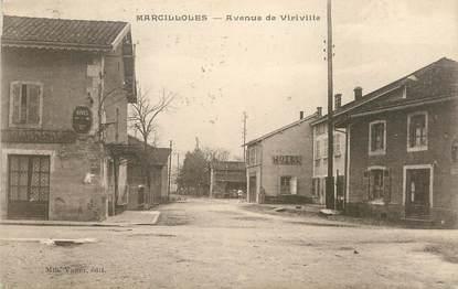 "CPA FRANCE 38 "" Marcilloles, Avenue de Viriville"""