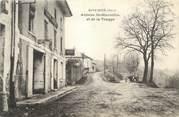 """38 Isere CPA FRANCE 38 """" Roybon, Avenue St Marcellin et de la Trappe"""""""