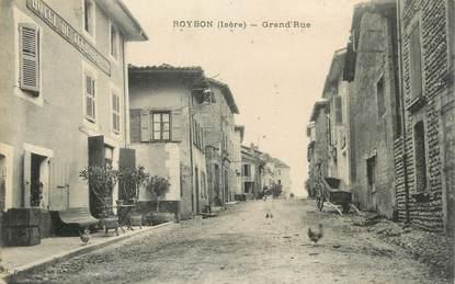 "CPA FRANCE 38 "" Roybon, Grande Rue"""