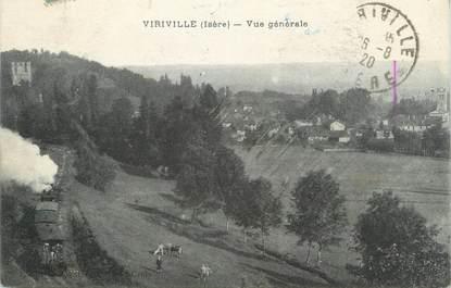 """CPA FRANCE 38 """" Viriville, Vue générale"""""""
