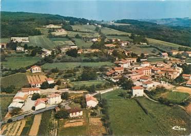 """CPSM FRANCE 38 """" Vernioz, Vue aérienne du village"""""""