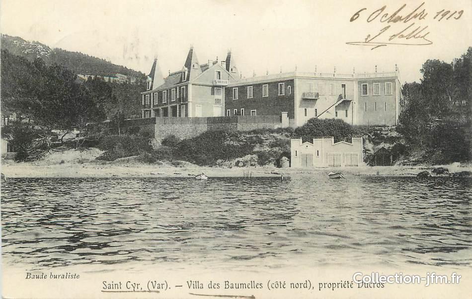 Cpa france 83 st cyr sur mer villa des baumelles 83 - Agence du vieux port saint cyr sur mer ...