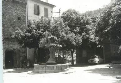 """CPSM FRANCE 83 """" Cabasse, La Place de la Fontaine"""""""