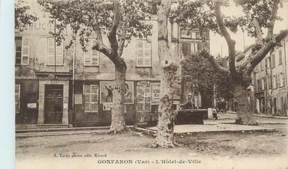 """CPA FRANCE 83 """" Gonfaron, L'Hôtel de Ville"""""""