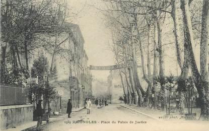 """CPA FRANCE 83 """" Brignoles, Place du Palais de Justice"""""""