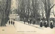 """83 Var CPA FRANCE 83 """" Brignoles, Avenue de la Gare"""""""