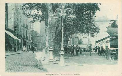 "CPA FRANCE 83 "" Brignoles, Place Caramy"""