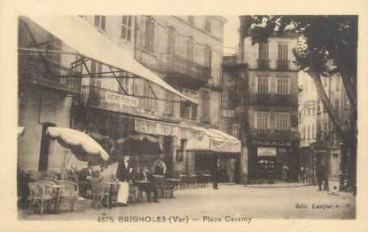 "CPA FRANCE 83 "" Brignoles, Place Caramy"""