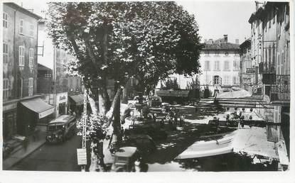 "CPSM FRANCE 83 "" Brignoles, La Place Caramy"""
