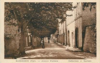 "CPA FRANCE 83 ""Bargemon, Avenue Pasteur"""