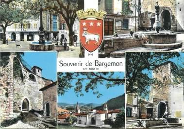 "CPSM FRANCE 83 ""Bargemon, Vues"""