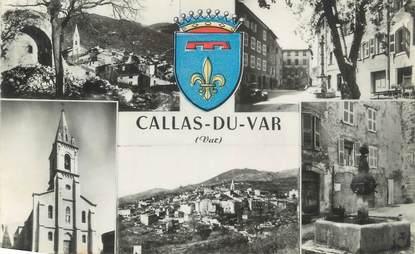 """CPSM FRANCE 83 """"Callas du Var, Vues"""""""