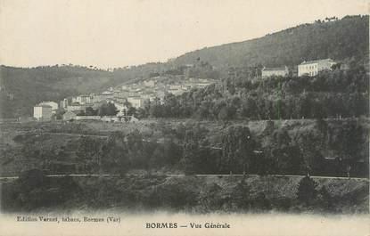 """CPA FRANCE 83 """" Bormes, Vue générale"""""""