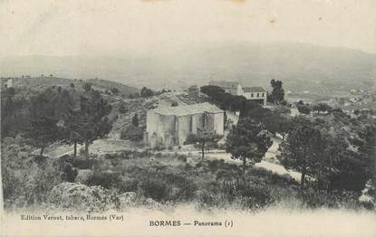 "CPA FRANCE 83 "" Bormes, Panorama"""