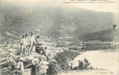 """CPA FRANCE 83 """" Cavalière, Sommet du Cap Nègre"""""""