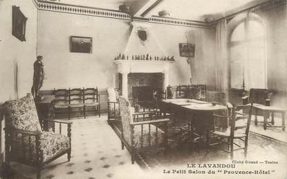 cpa france 83 le lavandou le petit salon du provence