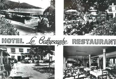 """CPSM FRANCE 83 """"Pramousquier, Hôtel Restaurant Le Batyscaphe"""""""