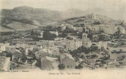 """CPA FRANCE 83 """" Comps du Var, Vue générale"""""""