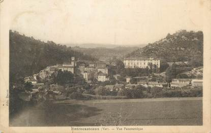 """CPA FRANCE 83 """" Entrecasteaux, Vue panoramique"""""""