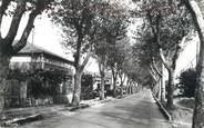 """83 Var CPSM FRANCE 83 """" Cuers, Avenue de la Gare"""""""