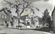 """83 Var CPSM FRANCE 83 """" Puget Ville, Place de l'église"""""""