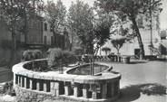 """83 Var CPSM FRANCE 83 """" Puget Ville, Place de la Liberté"""" / CACHET OCTOGONAL"""