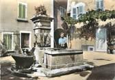 """83 Var CPSM FRANCE 83 """" Puget Ville, La Fontaine"""""""