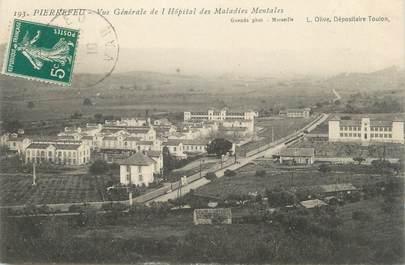 """CPA FRANCE 83 """" Pierrefeu, Vue générale de l'Hôpital des Maladies Mentales"""""""