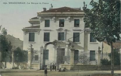 """CPSM FRANCE 83 """" Draguignan, La Banque de France"""" / BANQUE DE FRANCE"""