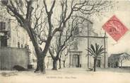 """83 Var CPA FRANCE 83 """" Fayence, Place Thiers"""""""