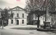 """83 Var CPSM FRANCE 83 """" Trans, Hôtel de Ville et Place"""""""