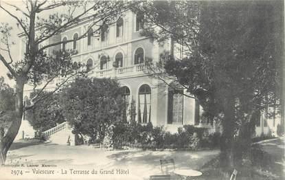 "CPA FRANCE 83 "" Valescure, La terrasse du Grand Hôtel"""